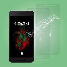 2x Glas Schutzfolie klar - Google Nexus 6P Schutzglas Displayschutz Handy Folie