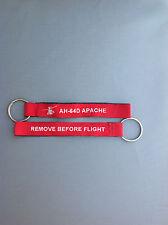 AH-64D Apache remove before flight key chain