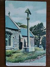 SOMERSBY THE CROSS 1904 POSTCARD