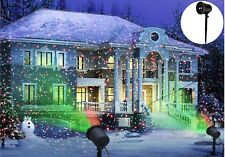 Outdoor Indoor Christmas House Laser Light Timer Projector Star Projection LED