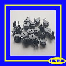 118224 X 10 IKEA Plastic Cam Nuts Fixings GREY - 100% Genuine