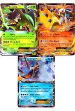 Pokemon cards Lot Of 3, BLAZIKEN SCEPTILE SWAMPERT EX HOLO PROMO XY53 XY54 XY55