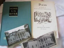 South Carolina Poems 1970 Home by the River 1941 Archibald Rutledge photo lot