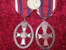 WW1  Replica Copy Queen Alexandra's Imperial Military Nursing Service Cape Badge