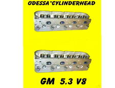 PAIR GM GMC CADILLAC BUICK CHEVY 4.8 5.3 OHV V8 CYLINDER HEADS CAST # 706 & 862