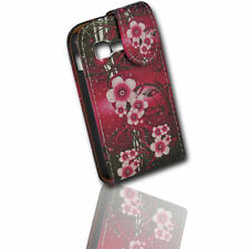 Design 3 Flip Tasche Cover Case Handy Hülle Etui für Samsung S5300 Galaxy Pocket