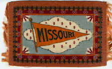 Large 1890sTobacco College Felt Missouri University