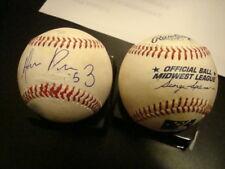 Hernan Perez auto signed Midwest League baseball Detroit Tigers