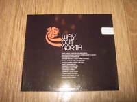 "VARIOUS ARTISTS "" WAY OUT NORTH "" CD DANCE ALBUM 2003 NEW DIGIPAK"