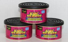 California Car Scents Duftdosen 3 Stück + 3 Deckel Coronado Cherry Kirsche