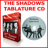 THE SHADOWS & HANK MARVIN TAB CD BASS GUITAR + TABLATURE GREATEST HITS SONG BOOK