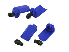 RPM Shock Shaft Guards for Traxxas 1/10th Scale Shocks - Blue #RPM80405