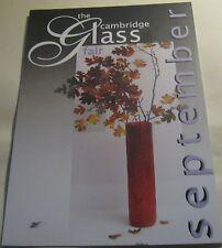 Advertising Event Se[tember Cambridge Glass Fair 2008 - unposted