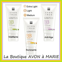 BB Creme Teintée SPF15 Nutra effects AVON : Matifiante, illuminante ou Anti-Age