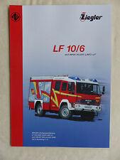 Ziegler Feuerwehr Löschfahrzeug LF 10/6 auf MAN LAEC - Prospekt Brochure 05.2006