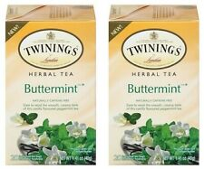 Twinings Of London Buttermint Herbal Tea 2 Box Pack