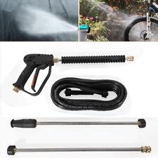 3000Psi High Pressure Spray Gun Wand Lance & 8M Water Washer Hose w/ Nozzles Usa