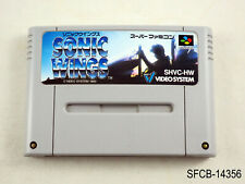 Sonic Wings Aero Fighters Super Famicom Japanese Import SFC SNES JP US Seller
