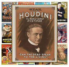 "Mini Posters [13 pages 8""x11""/A4] Houdini Magician Show Vintage Poster MP529"