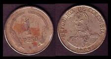 ★★ COLOMBIE / COLOMBIA ● 1 PESO 1976 ● E8 ★★