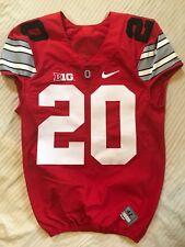 Ohio State Football Game Used Alternate Jersey #20