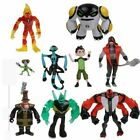 Ben 10 9 Pcs Light-up Action Figures PVC Toy Set Set US Shipper Free Shipping