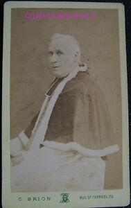 PCV569 - photo CDV Ecclésiastique - 2nd Empire - par C. BRION à MARSEILLE