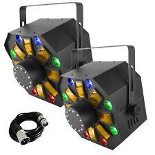 Chauvet Swarm Wash Fx (Paire) Led 4-in-1 Disco Effet de Lumière Inc DMX Câble