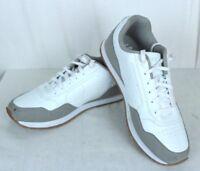 FUBU  Size 12 Classic Men's Athletic Shoes White Tennis Sneakers Eur 44.5