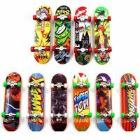 3x Mini Skateboard Toy Deck Truck Finger Board Skate Park Boy Kid Children Gift