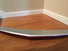 Silver 2014 Cadillac CTS stock rear spoiler