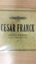 Frank: Organ Works: Music Score (G3)