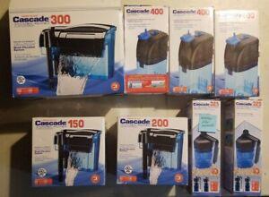 Cascade Aquarium Power Filter LOT x8 Parts/Repair/Missing 300,150,200,400,325