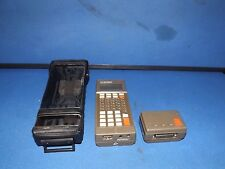 Intermec 9440 Handheld Trakker Terminal With 40 Md Modem And Carrying Case