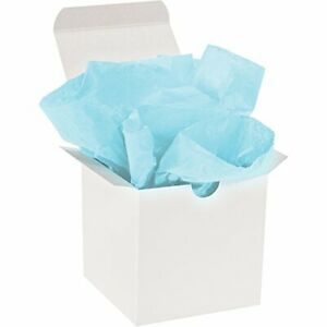 """Tissue Paper Gift Grade 20"""" x 30"""" Light Blue 480/Case by Christmas Packaging"""