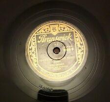 "BING CROSBY 10"" 78RPM  SILENT NIGHT HOLY NIGHT/ ADESTE FIDELIS- 02054 BRUNSWICK"