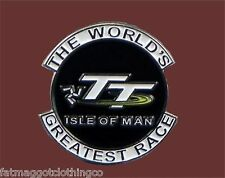 Isle of Man TT IOM The World's Greatest Race Enamel Pin - Transportation