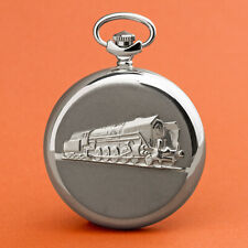 Molnija Pocket Watch 3602 Railway Lok Russian Analog Watch Locomotive