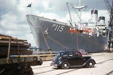 USS Randall Ship Southampton Original Kodachrome 35mm Photo Slide US Navy