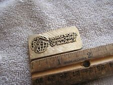 Vintage Money Clip Sahara World Championship Blackjack