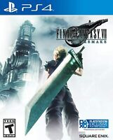 Final Fantasy VII: Remake - PlayStation 4 New