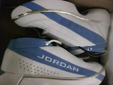 Nike AIR JORDAN retro blue n white SHOES  Size 9 special ordered in 2000