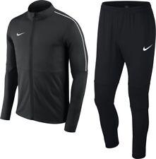Nike Park18 Training Full Mens Tracksuit Football Jacket Pants Top Bottom Black