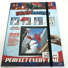 Disney Marvel Spider-Man Drawmaster Kids Drawing Set 125 Pieces Markers Plates