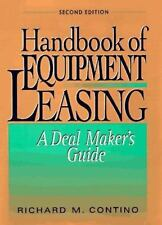 HANDBOOK OF EQUIPMENT LEASING A Deal Maker's Guide ~ Contino