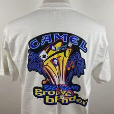 🔴 Vintage JoeCamel Big Vegas Groove Blender Shirt 1996 Men's Size Xl 90's