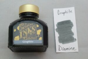 Diamine 80ml Fountain Pen Bottled Ink Graphite