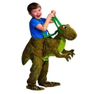 Dinosaur Childs Fancy Dress Up Costume Outfit Ride On Dino NEW