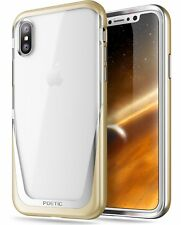 Poetic Lucent Hybrid Bumper Case Cover For Apple iPhone X iPhone Xs 4 Colors