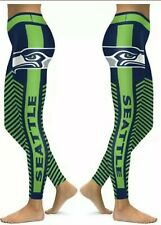 Seattle Seahawks Small to 2X-Large Women's Leggings New